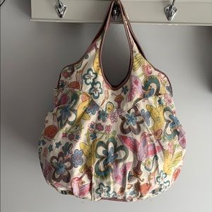 Lucky Brand Large Canvas Bag GUC